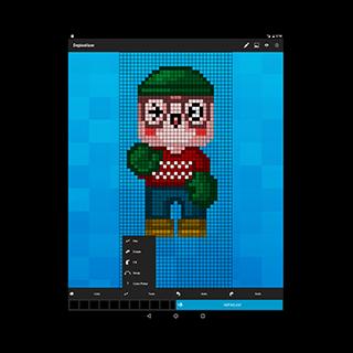 Depixelizer: erste App zur automatischen Umwandlung von Pixel-Art Grafiken in Vektordateien um. Jetzt im Play Store: