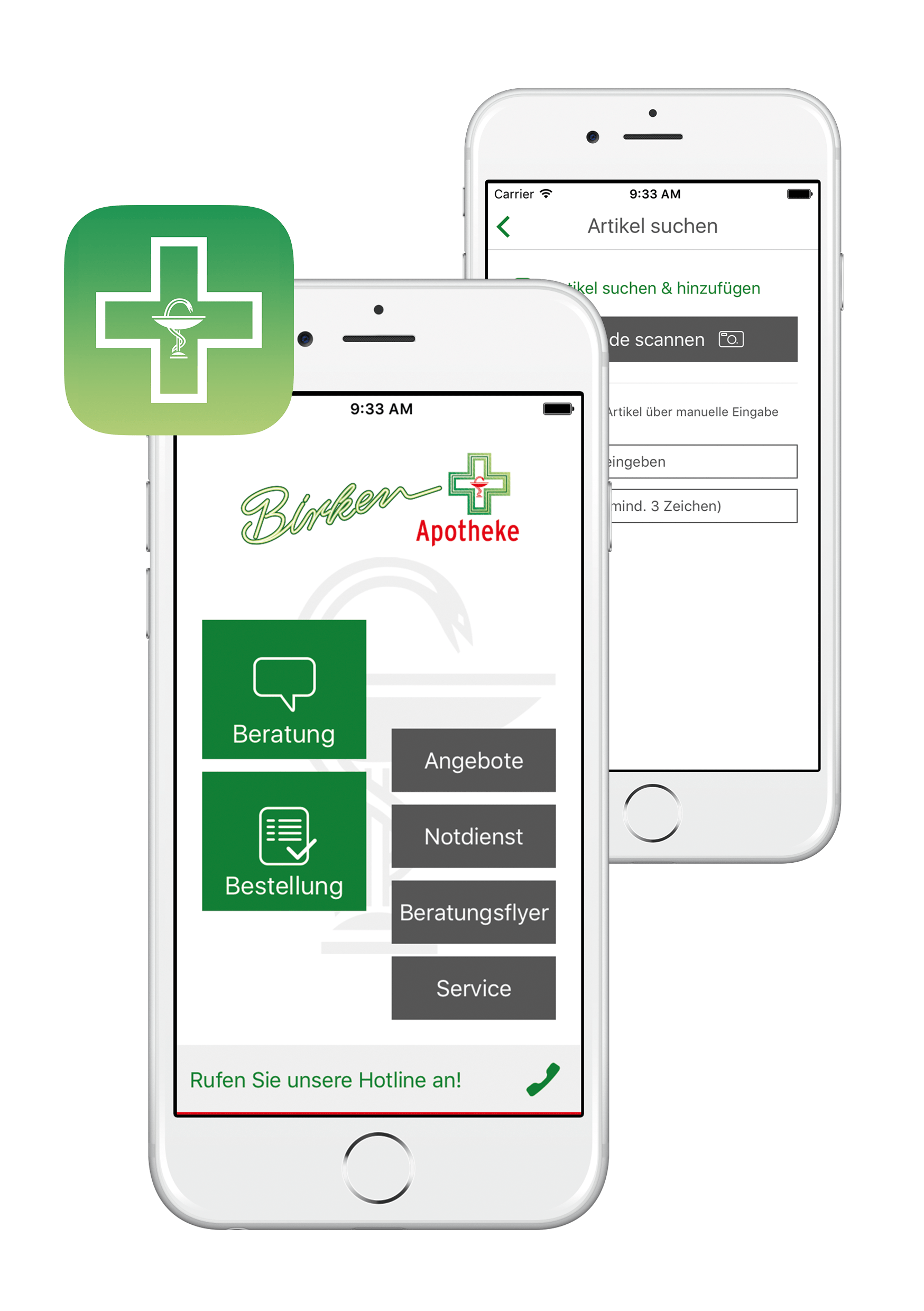 "Kölner App-Spezialisten holen ""Special Mention"" mit Birken-Apotheke App Ehrung in der Kategorie ""Excellent Communications Design Apps"""