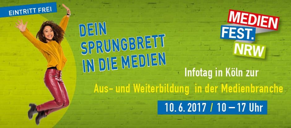"""In wenigen Tagen ist es wieder so weit: Am Samstag, 10. Juni startet das 11. Medienfest.NRW. Wie auch schon letztes Jahr, bin ich wieder mit dabei auf dem Panel """"App-Entwicklung als Beruf""""."""