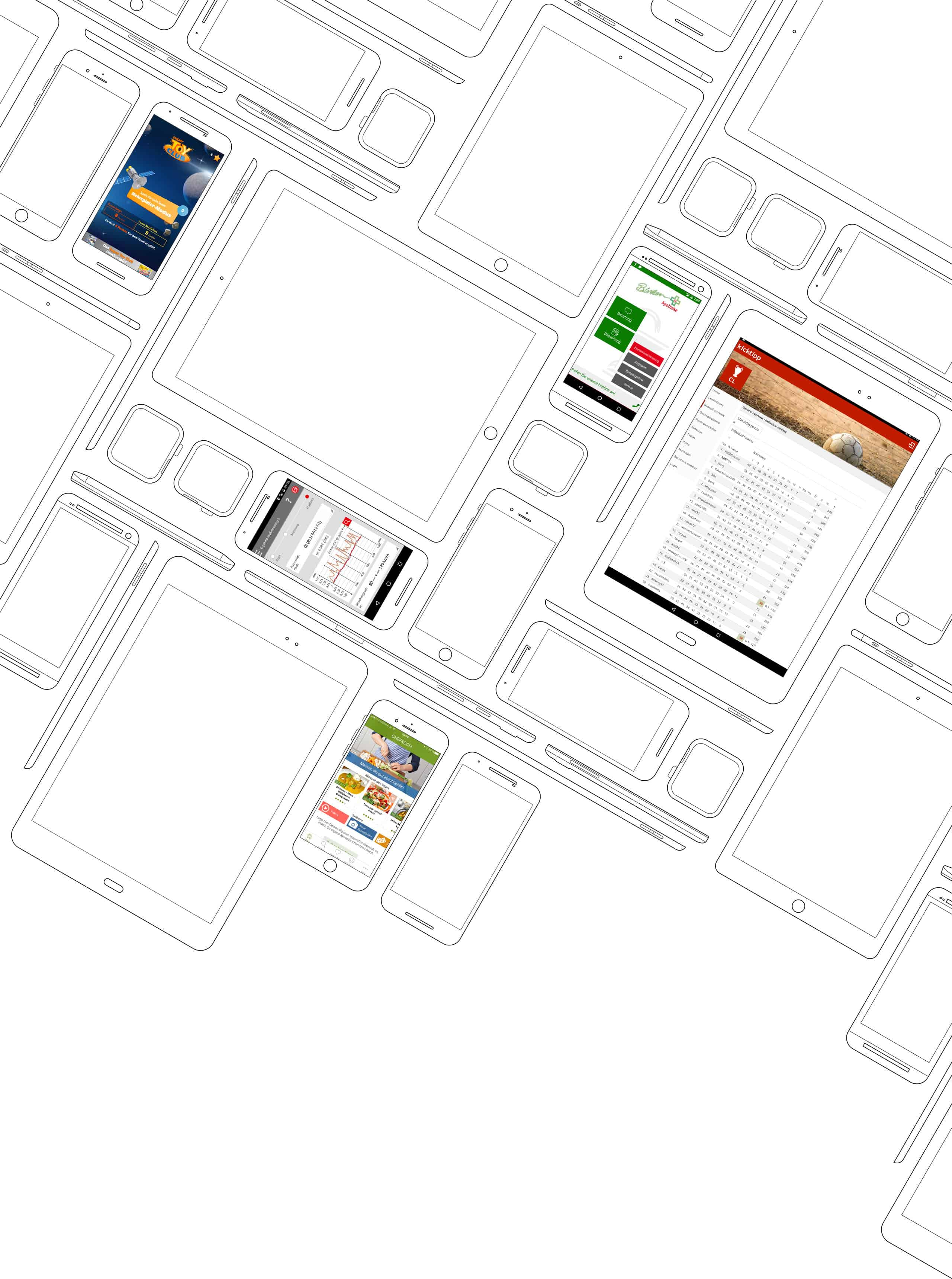 TheAppGuys sind eine Agentur für erfolgreiche mobile Entwicklung für iOS und Android aus Köln. TheAppGuys bieten Beratung, Konzeption, Projekt- und Kostenplanung.